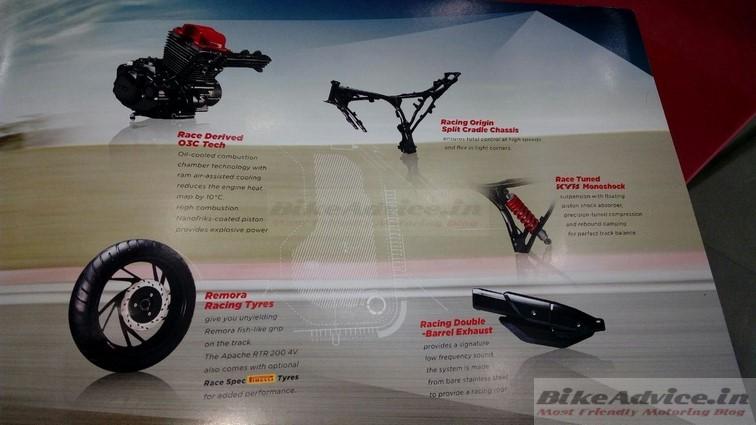 TVS Apache 200 brochure 3