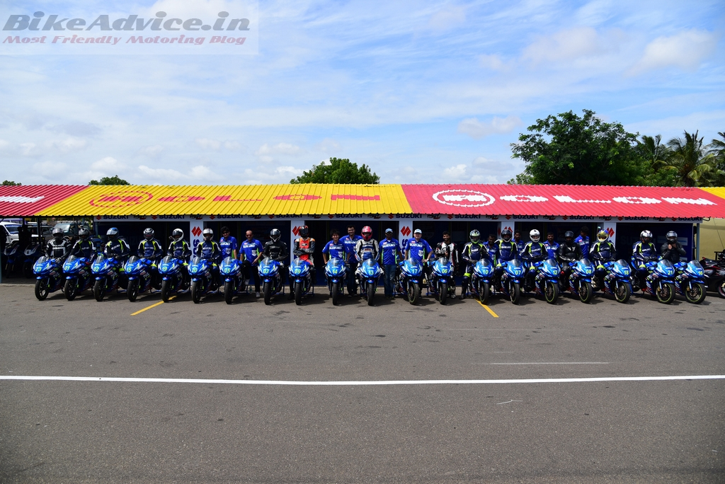 All geared up for Suzuki Gixxer Cup season 2 track race