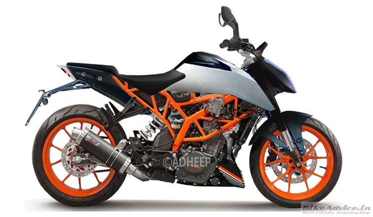 2017 Duke 390 Render Pic 3 Changes We Expect From Ktm