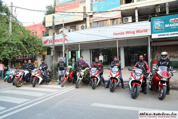 Honda Big Bike Ride 1