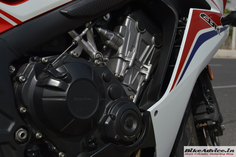 Honda CBR 650F engine 2