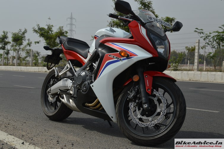 Honda CBR 650F feature 2