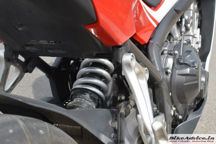 Honda CBR 650F rear suspension 2