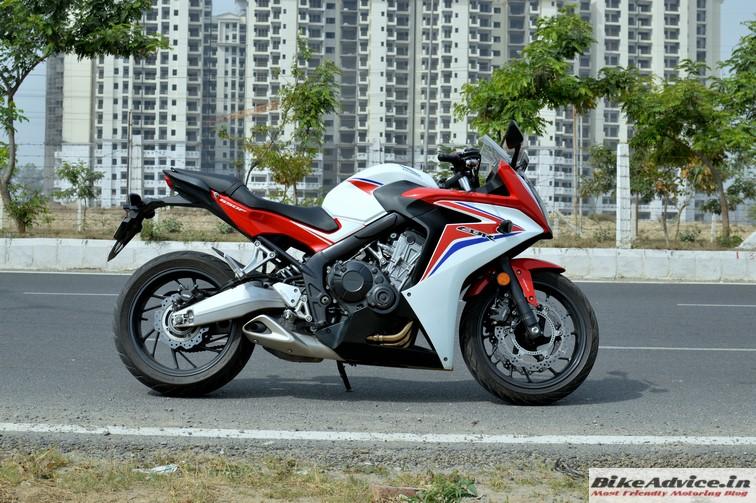 Honda CBR 650F side 2
