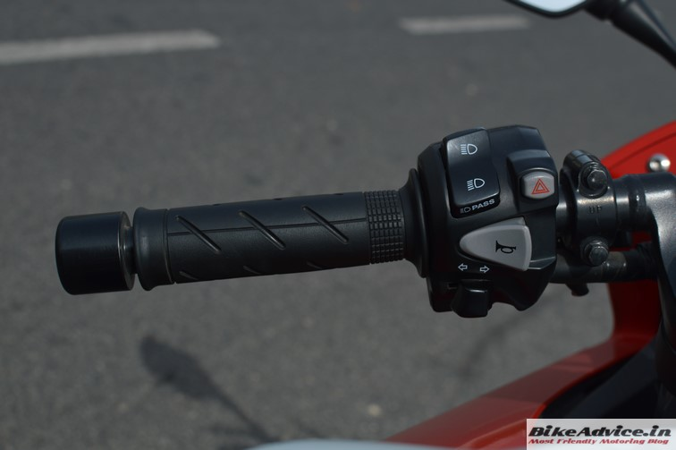 Honda CBR 650F switchgear left