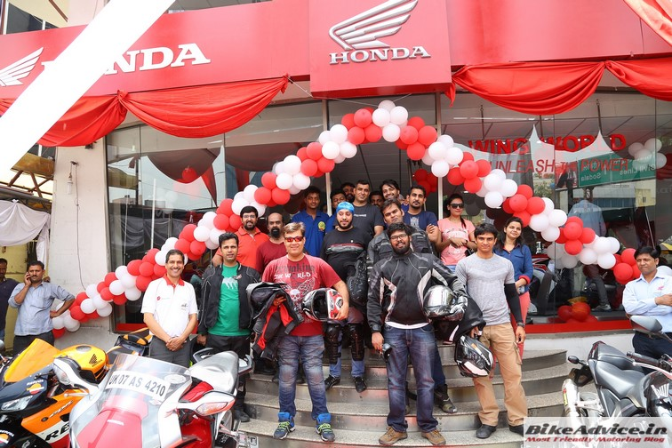 Honda inaugurates its first 'Wing World' outlet in Jaipur