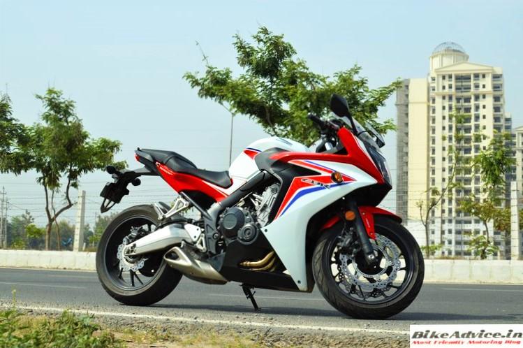 Honda CBR650F Pic side