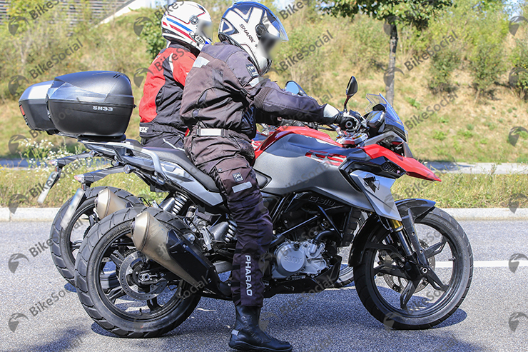 Bmw G 310gs Adventure Unveiling At Eicma Next Month 4 New