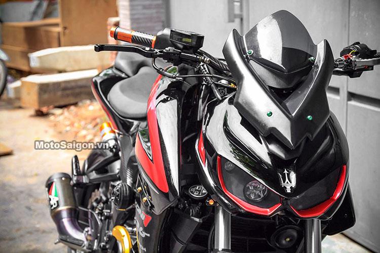 350cc Pulsar Ns200 Modded To Look Like Kawasaki Z1000 Pics