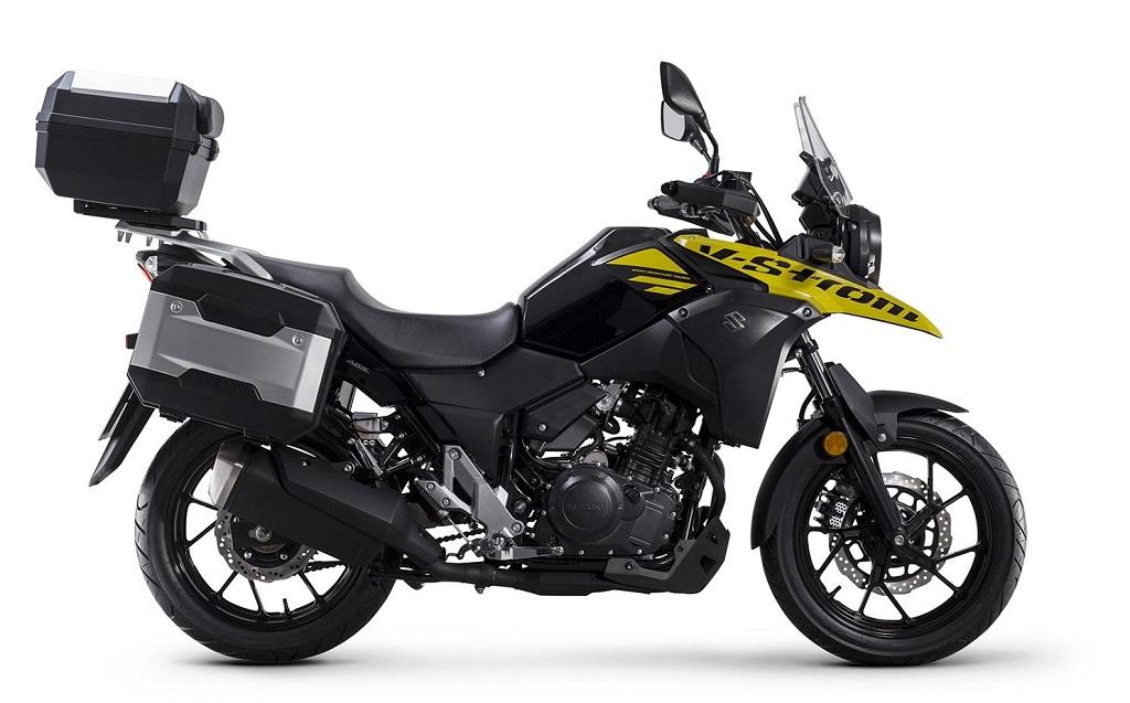 Suzuki 250cc adventure motorcycle