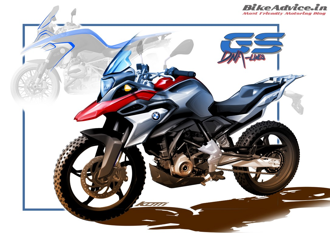 Eicma 2016 bmw g 310gs everyday adventure tourer from for Gs decorating