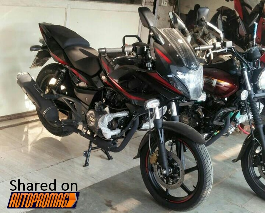 2017 bajaj pulsar 220 launched in new colour option | motorbeam.
