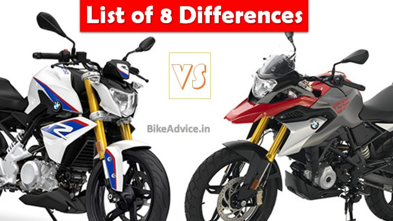 Bmw G310 R Vs G310 Gs Differences Specs Fuel Efficiency Tyres