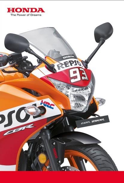 Honda CBR 250R Repsol Racing Replica Edition Unveiled Bookings Open
