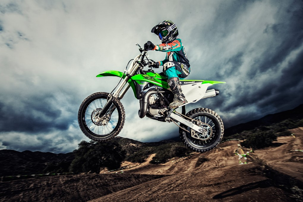 Off Road Motorcycles Kawasaki Kx250 Amp Kx100 Launched Prices
