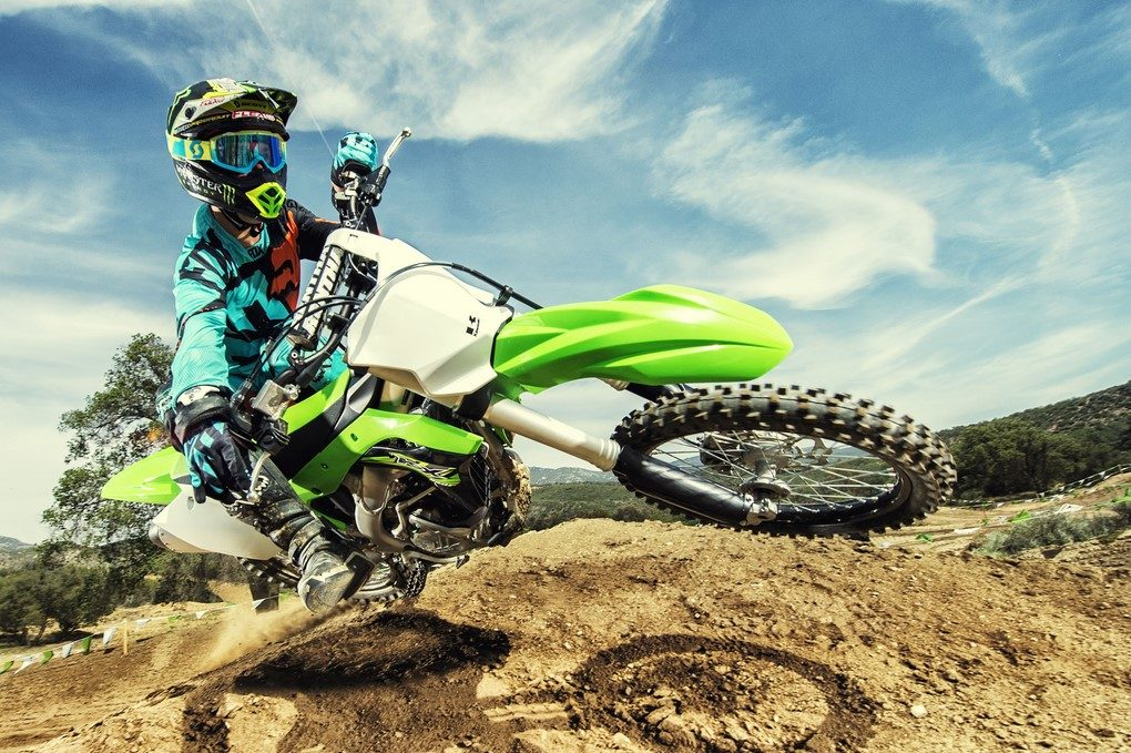 off road motorcycles kawasaki kx250 kx100 launched prices. Black Bedroom Furniture Sets. Home Design Ideas