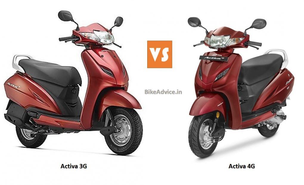 Launched - New 2017 BS4 Activa 4G Price, Pics & Changes