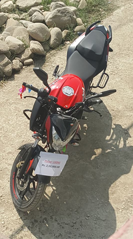 Launched In Nepal Pulsar Ns160 Price Pics Features Details