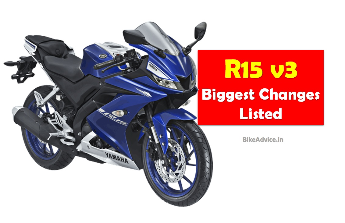 List New R15 V3 Changes Engine Power Tyres Amp Much More