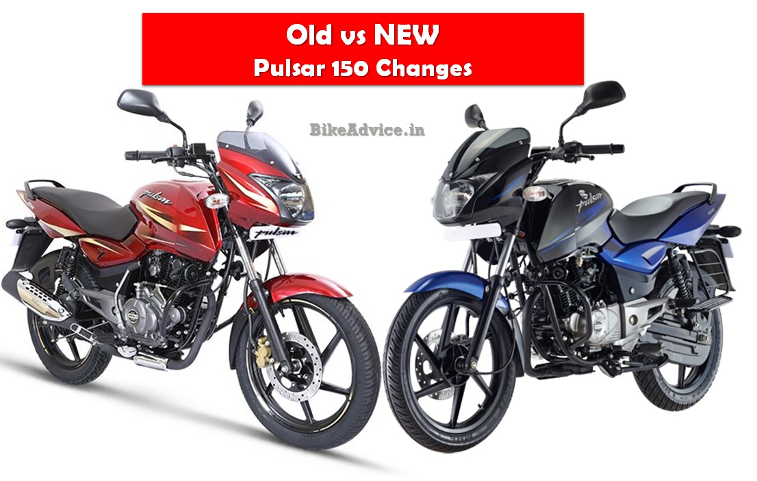 Old Vs New 2017 Pulsar Bs4 Changes