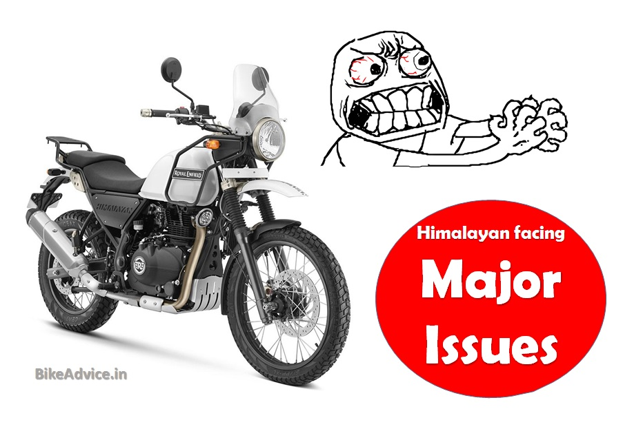 RE Himalayan Issues & Problems: Engine Failure, Gearbox Niggles etc