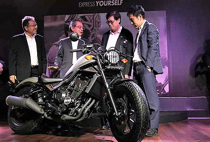 Launched Honda Rebel 500 Price Pics Specs Indonesia