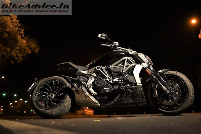 XDiavel review pic