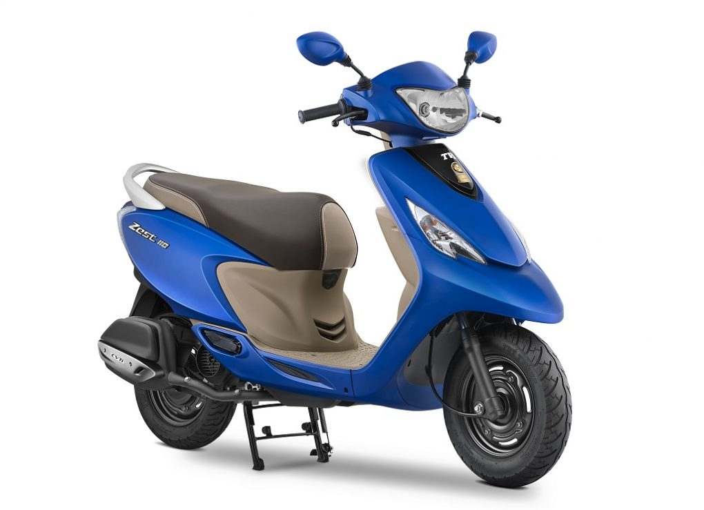 Scooter With Seat >> Launched: 2017 Scooty Zest Price, Pics, Changes, Colours