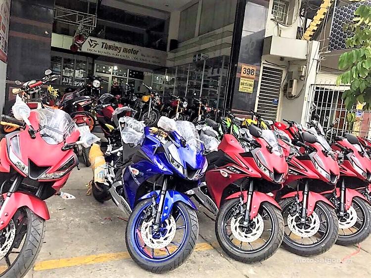 Yamaha Motorcycle Vietnam Website