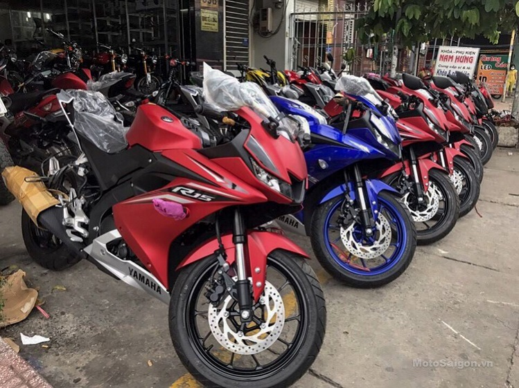 Yamaha r15 v3 vietnam launch soon price pics details for Yamaha motorcycles thailand prices