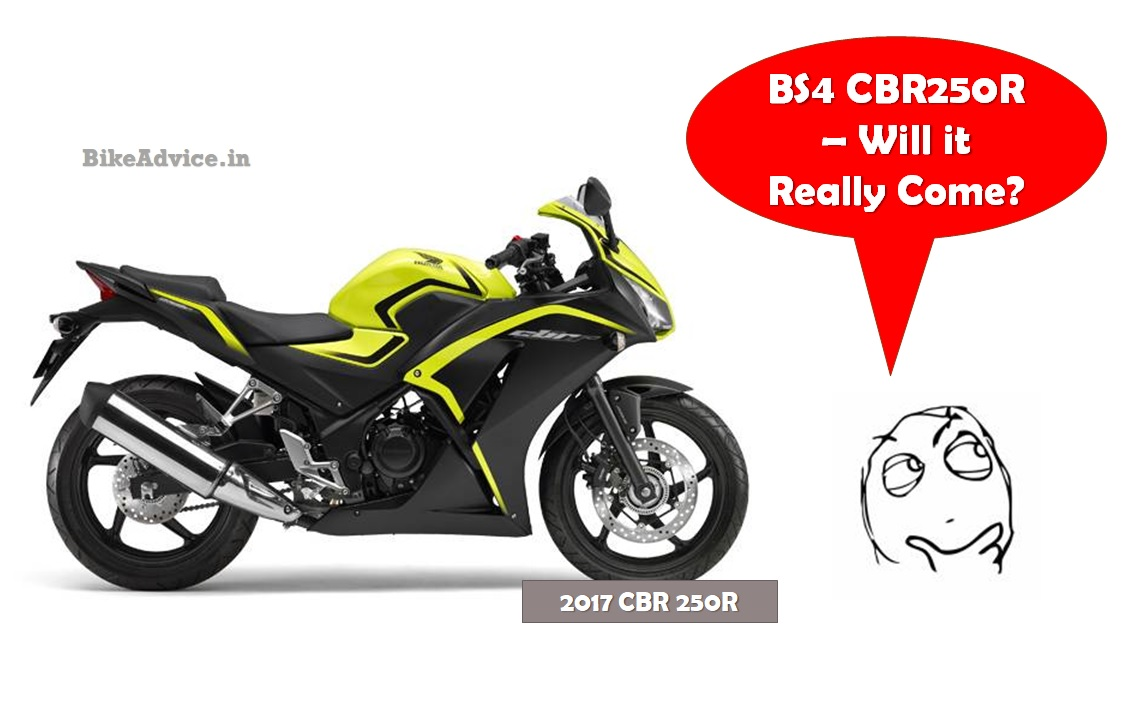 Production Of Old Cbr 250r Still On New Bs4 Cbr250r Launch