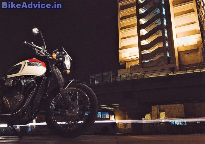 2017 Bonneville T100 Review India Pics Fuel Efficiency Features