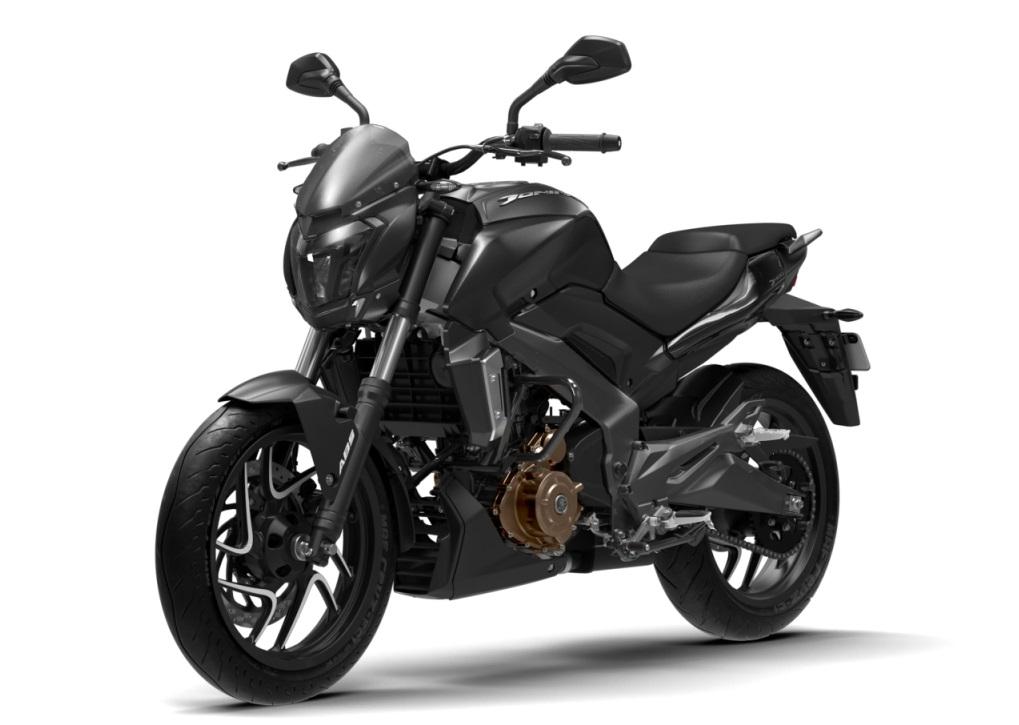 Launched Dominar 400 Matte Black Colour Price Pics