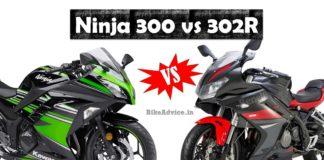 Ninja 300 vs 302R