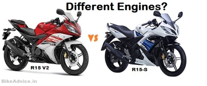 R15 S vs R15 v2 engine differences?