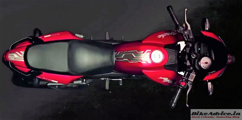 launched apache 180 apache 160 matte red prices pics