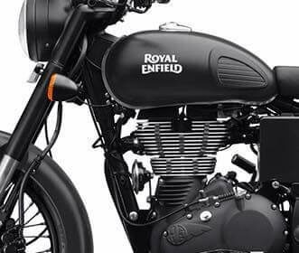 Royal Enfield Classic 500 Stealth Black Pics Gallery