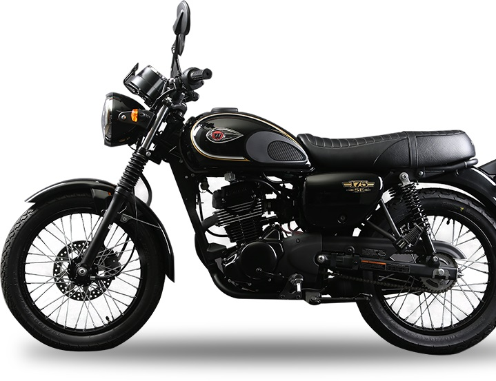 Indonesia Launched Kawasaki W175 Price Pics Specs