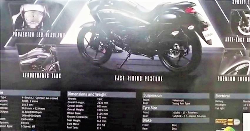 Launched: Suzuki Intruder 150 Price, Pics, Details & Features