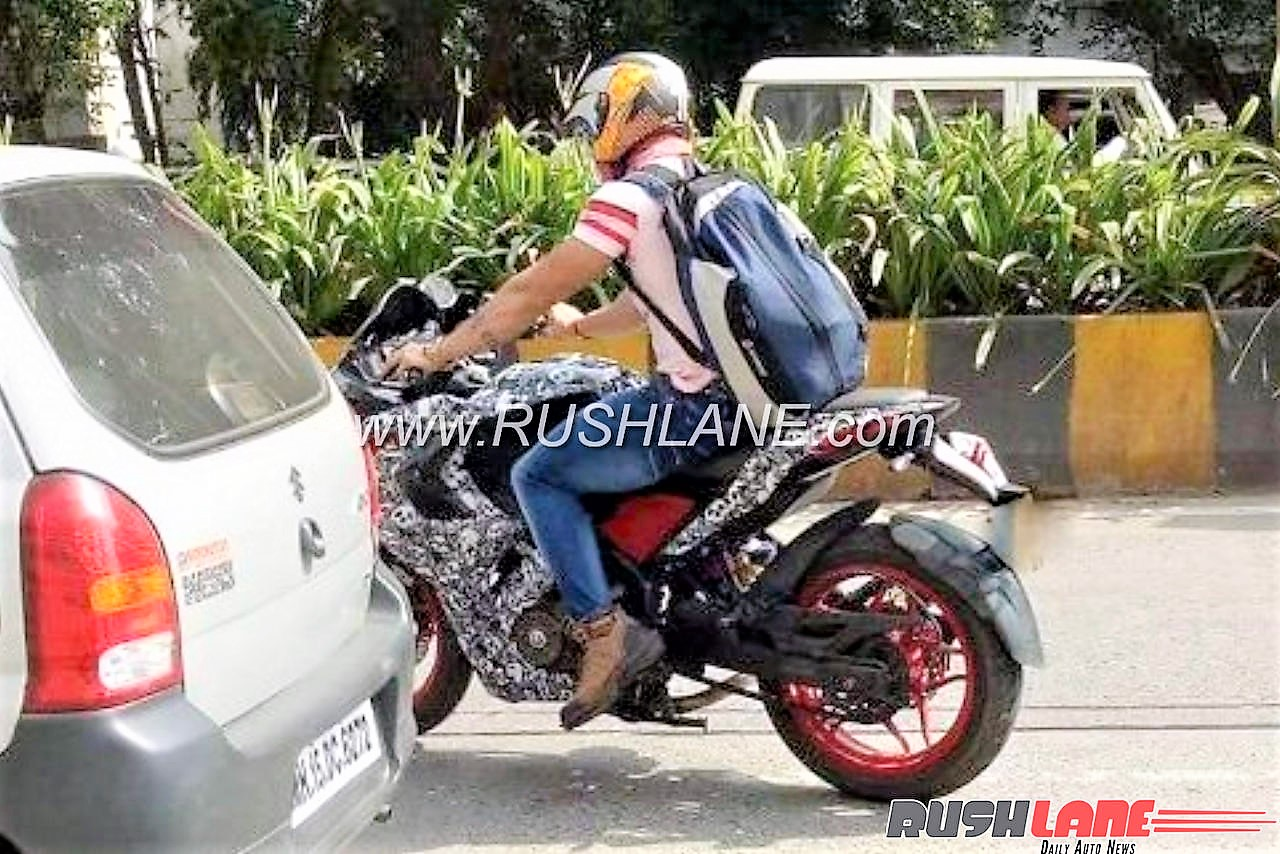 Is the 2018 Pulsar RS200 Spotted Testing? Pic & Analysis
