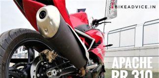 Apache 310 Exhaust Sound