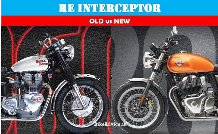 Interceptor New vs Old