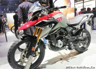 BMW G310GS Launch