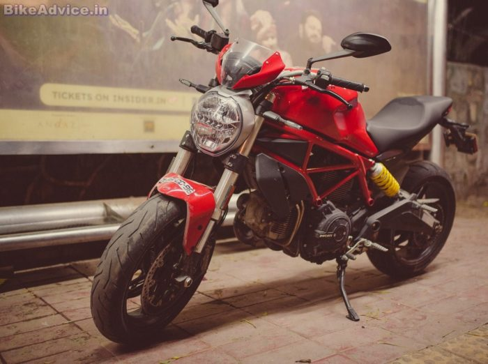 Ducati Monster 797 review bhp torque performance