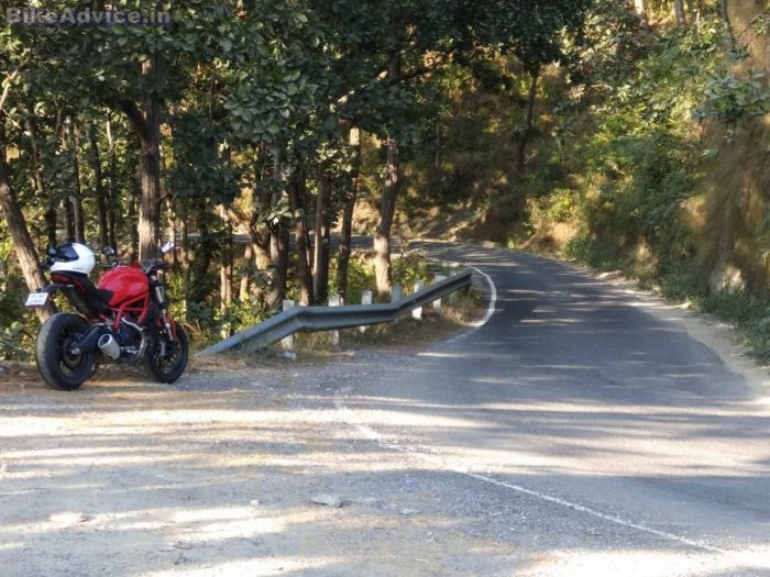 Ducati Monster 797 review handling