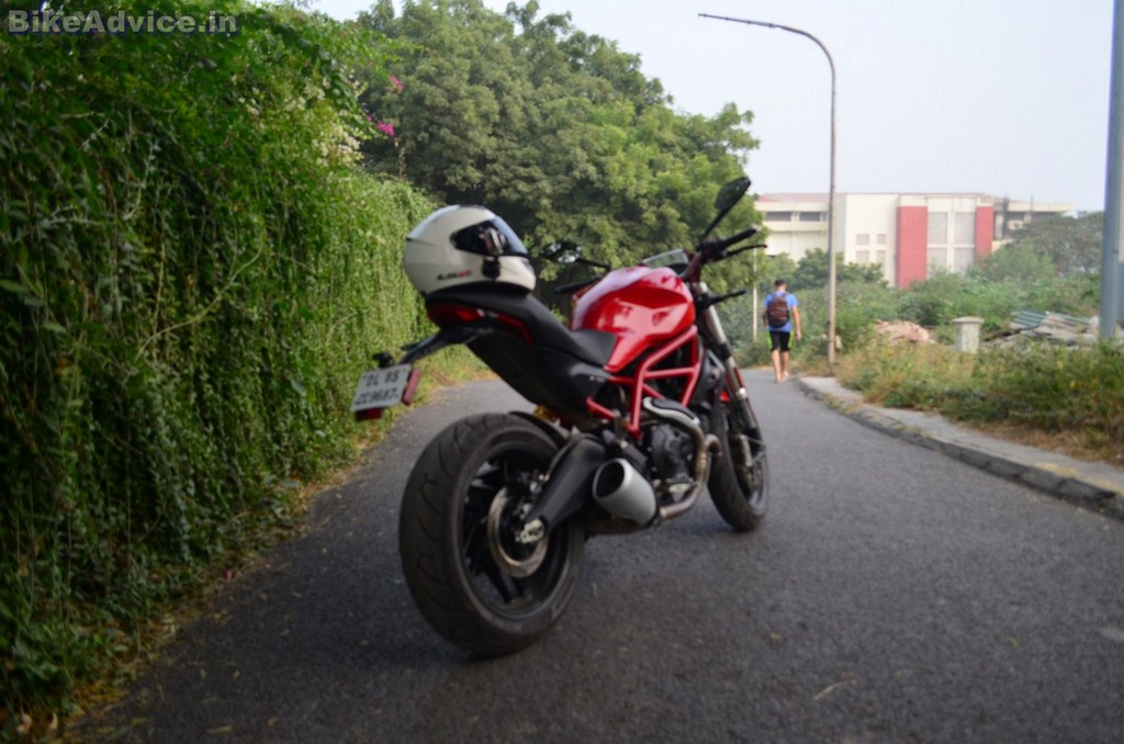 Ducati Monster 797 review Delhi to Lansdowne