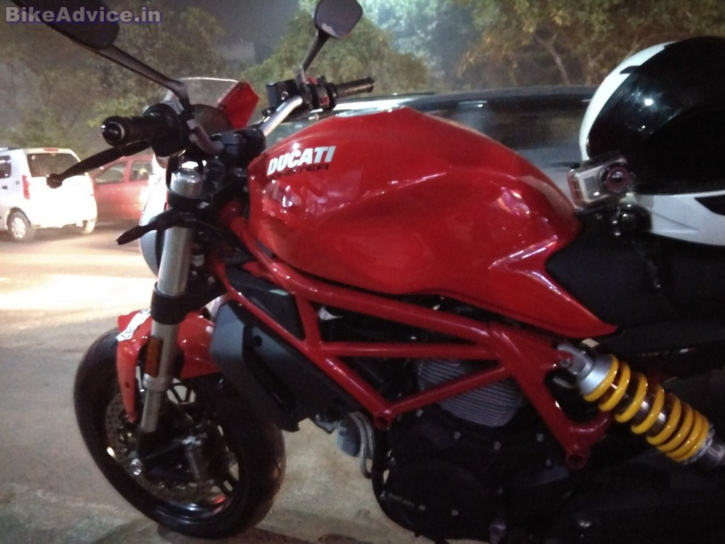 Ducati Monster 797 review tech specs