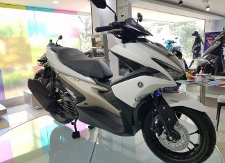 Yamaha Aerox Launch