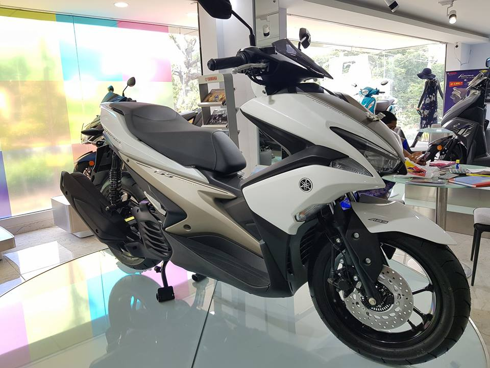 Yamaha Aerox Launch In India Spy Pics Amp Details