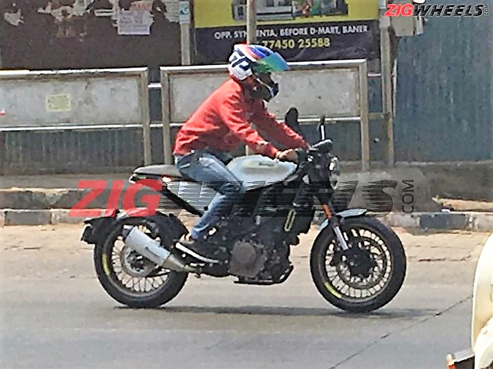 Latest Husqvarna 401 Spy Pics From India Launch Expected